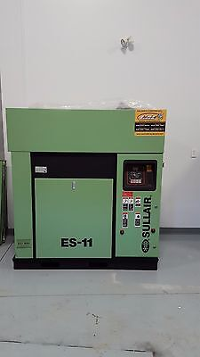 Two Used Sullair Electric Driven Air Compressors