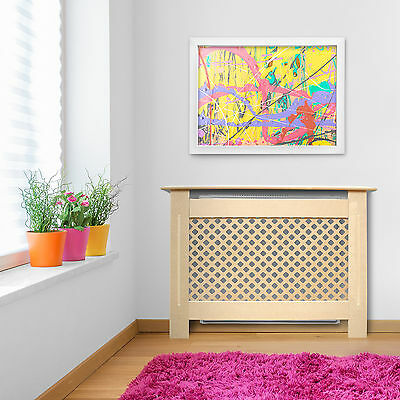 Traditional Small/medium Size Radiator Cabinet/cover/cupboard Mdf Wood Rad Box