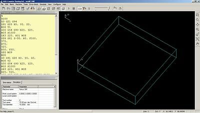 seeNC Mill - CNC program simulator software for students
