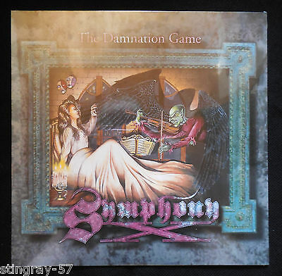 Symphony X The Damnation Game Lp New Sealed