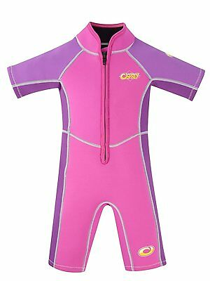 """Osprey Girls Shorty """"Oyster"""" Wetsuit   Ages 1-4   A+ Quality   FREE Express P&P"""