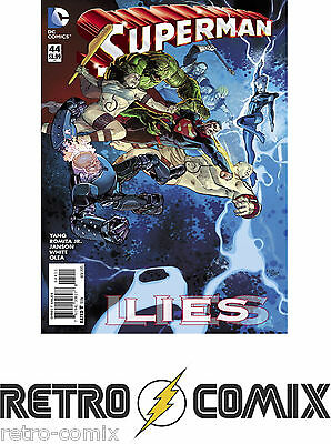 Dc New 52 Superman #44 First Print New/unread Bagged & Boarded