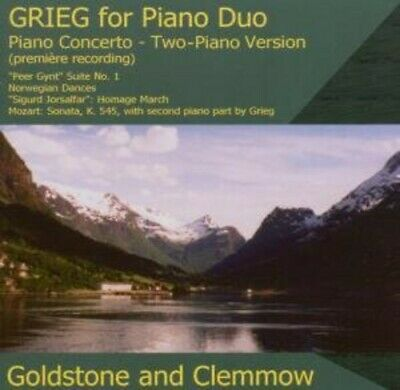 Music For Piano Duo - Edvard Grieg (2007, CD NEUF)