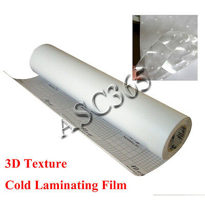 3D Cat Eye Pattern Design Cold laminating Film (0.7x21.6Yard)