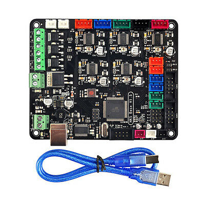 MKS BASE V1.5 3D Printer Kit Remix Board Replace Ramps 1.4 + Mega 2560 + 5*A4988