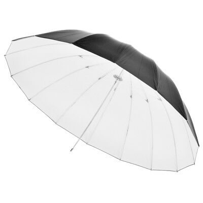 "PIXAPRO® Premium 59"" Black/ White Umbrella (150cm) 8mm Shaft"