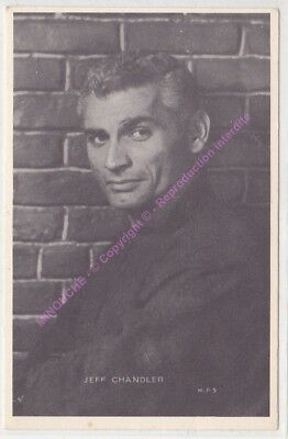 CPSM RPPC STAR JEFF  CHANDLER Offert par ROYAL CHEWING GUM