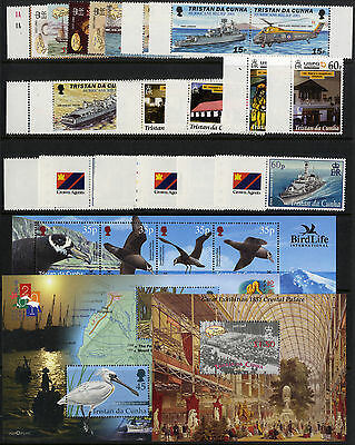 Tristan Da Cunha - 2001 - Commemorative Sets (Complete) - Unmounted Mint/MNH
