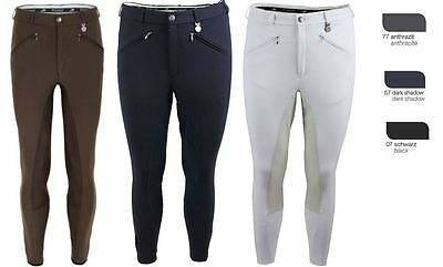Pikeur Liostro Mens McCrown Full Seat Breeches Fabric 82