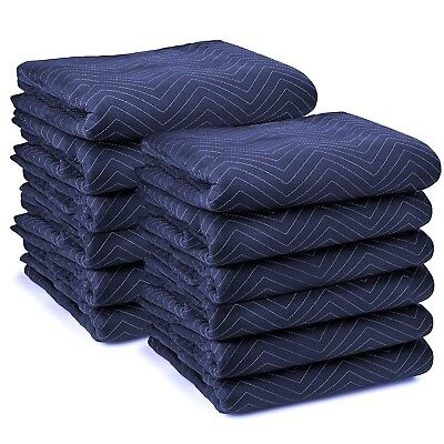 20 x Furniture Protection Moving Blankets Removalist Pads Quilted Padded Blanket