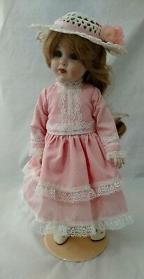 Grace Rockwell 1925 Reproduction Doll by Carolyn Pople 1985 Body - Germany