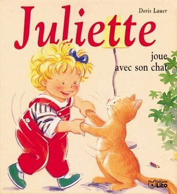 Juliette joue avec son chat Doris Lauer Lito mini-juliette Francais 10 pages Car