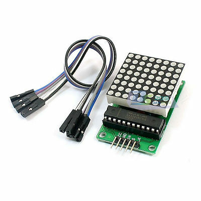 8x8 MAX7219 Dot Matrix Led Display Module PIC Electrical Kit DIY Compatible 1 PC