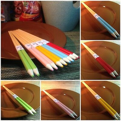 Chopsticks Fancy Pencil Set Natural Wood Dinnerware