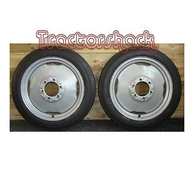 Ferguson TEF20 Tractor pair of Front Wheels Tyres & Tubes **BRAND NEW**