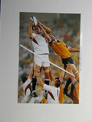Rugby Union Photo - Martin Johnson