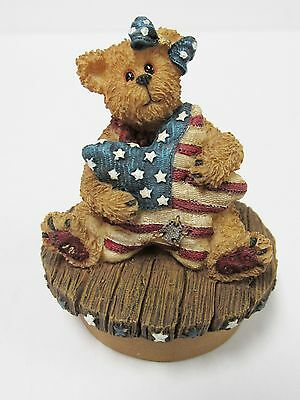 "Boyds #651270  Candle Topper ""Bess...Stars and Stripes Forever""  MINT-New in Box"