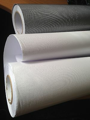 Perforated Mesh Film For Headlight Car Tinting Tint Like Fly-Eyes Vinyl wrap.