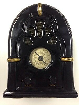 1998 limited Edition Am/Fm Radio made by PS Retro Paul Sebastian Art Deco Dial