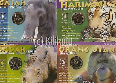 2003 Malaysia Endangered Species Coin set (12) - Animal
