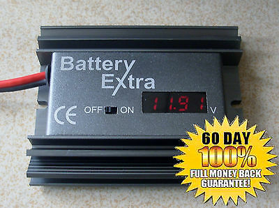 battery desulfator and reconditioner, restore any 12 volt lead acid batteries