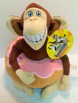 Penguins of Madagascar Mason the Monkey Plush Yummy World