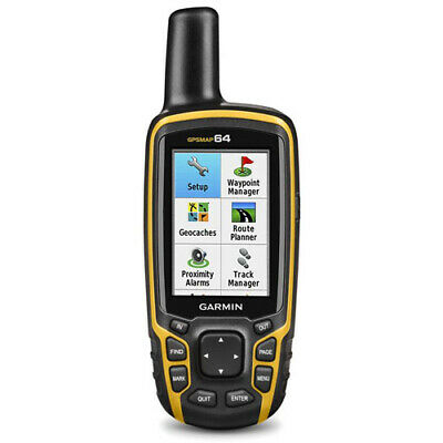 Garmin GPSMAP 64 Handheld GPS Navigator Receiver with FULL AUST GARMIN WARRANTY