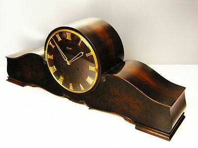 Very Big Beautiful  Art Deco  Kienzle Chiming Mantel Clock