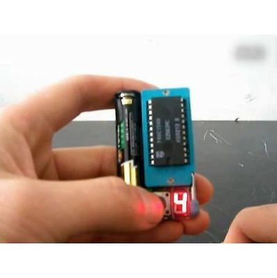 Multi-Function IC LED Optocoupler LM399 DIP CHIP TESTER Model Number Detector