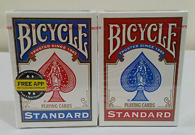 2 Decks Bicycle US Standard Playing Cards Trusted Poker Card Made in USA 2016!!!