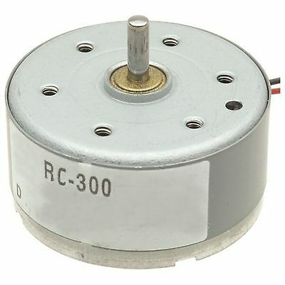 DC Motor 1.5 to 4.5 volt operation 10mA start current v Solar low power