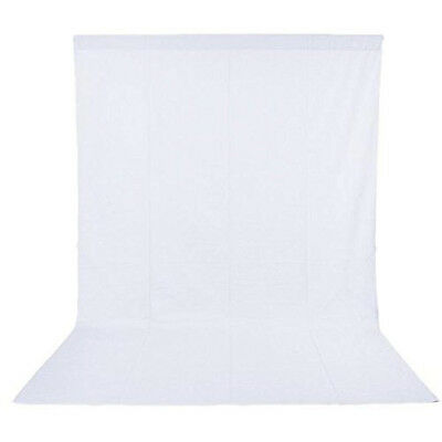 Phot-R 3 x 3m Photography Photo Studio Non-Woven Backdrop Background White