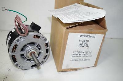Ao Smith 1/3Hp Ac Motor # Heh289N  115Vac 60Hz.  6.15Amps 1075 Rpm   New