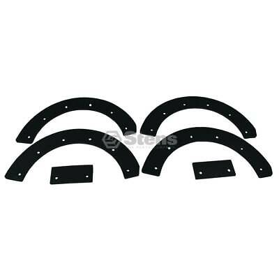 Stens 780-023 Paddle Set Rubber Blade Replacement Kit Snapper 7060631YP