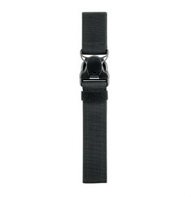 New! Safariland Black Quick Release Leg Strap Only Includes Buckle 6005-11-2