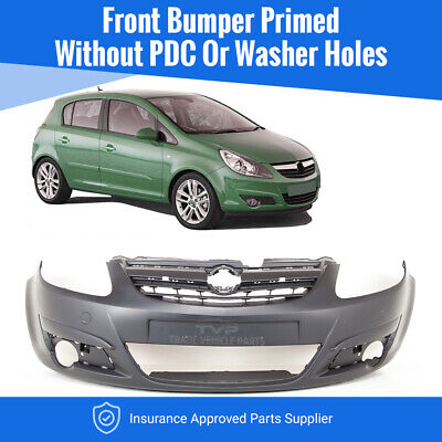 Vauxhall Corsa D 2006-2011 Front Bumper Primed New Insurance Approved