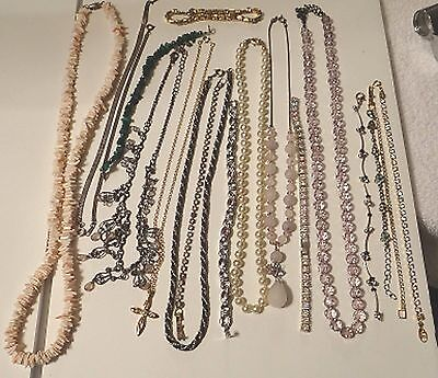 Jewelry Lot of Necklaces and Bracelets