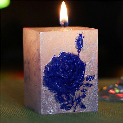 Flower Silicone Candle Mold Soap Molds Handmade Craft Clay Chocolate Candy Resin
