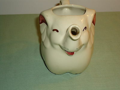 Old Shawnee Elephant Pitcher 4 ½ Inches High