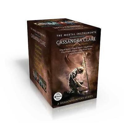The Mortal Instruments Complete Collection by Cassandra Clare New Box Set