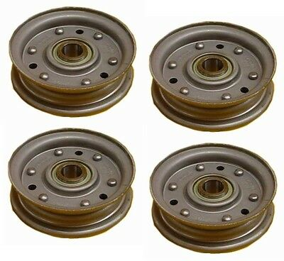 """4 Pack - King Kutter Finish Mower 4"""" Idler Pulley Single # 164090 County Line"""