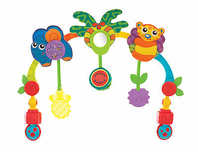 Brand New Playgro Tropical Tunes Travel Play Arch Baby Toy 0m+ Playarch