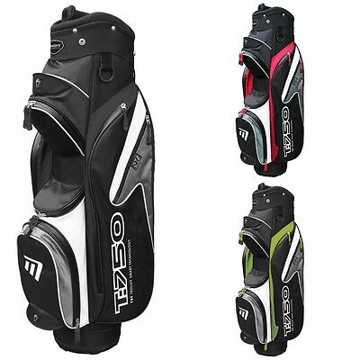 Masters T:750 Lightweight 7.5 Inch Trolley Cart Golf Bag with Cool Pocket