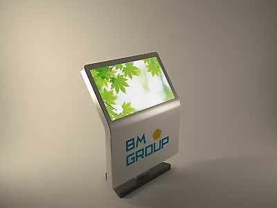 media kiosk, media totem, ad totem, ad kiosk, advertising equipment, marketing