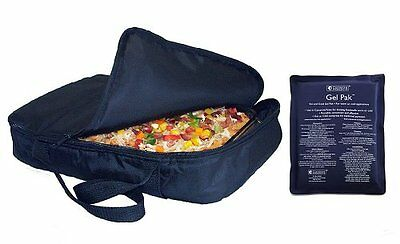 Insulated Food Carrier NEW Casserole Hot Cold Bag Delivery Large