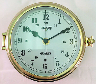 Brass Marine Use Clock  For the Boat