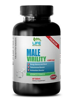MALE VERILITY 1275mg - Enhancement Pills - Increases Sexual Performance  1B