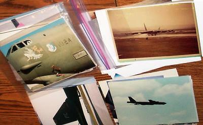 B-52 Airplanes Photo's 5x7 Lot of 100
