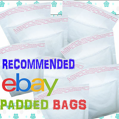 White Padded Bubble Wrap Bags / Envelopes 'all Sizes' All Courier - White Cheap