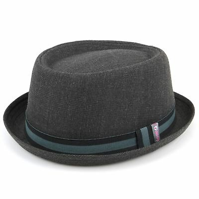 Hat Pork Pie Porkpie New Summer Mens Crown Ska Trilby Rude Boy Bad Retro Unisex